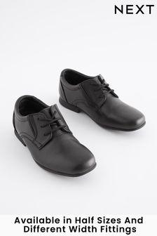 Кожаные строгие туфли со шнуровкой (Подростки)