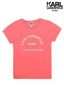 Karl Lagerfeld Pink T-Shirt