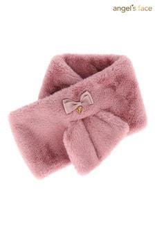 Нежно-розовый шарф Angel's Face