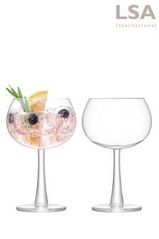 Set de 2 pahare LSA International de gin cu picior
