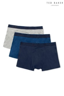 Ted Baker Navy/Black Trunks Three Pack