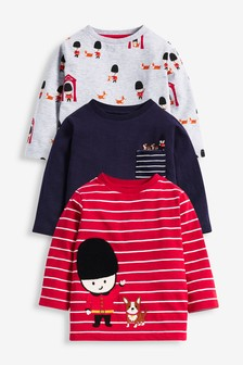 3 Pack Beefeater Jersey T-Shirts (3mths-7yrs)