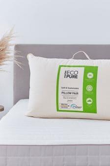 Set of 2 Martex Eco Pure Microfibre Pillows