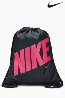 Nike Black/Pink Gym Sack