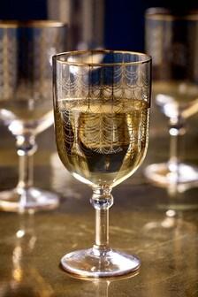 Súprava 4 vínových pohárov Freya