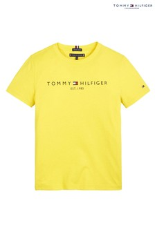 Tommy Hilfiger Yellow Essential T-Shirt
