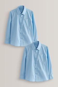 Набор из 2 рубашек с длинными рукавами (3-17 лет)