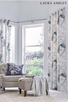 Laura Ashley Belvedere Eyelet Curtains