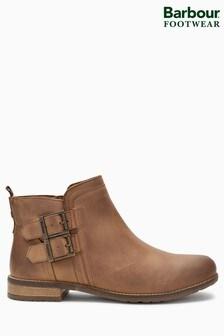 Barbour® Cognac Sarah Low Buckle Ankle Boot