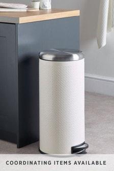 壓紋廚房踏板垃圾桶