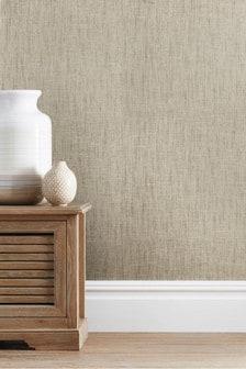 Paste The Wall Luxury Linen Look Wallpaper