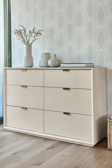 Mode 6 Drawer Wide Chest