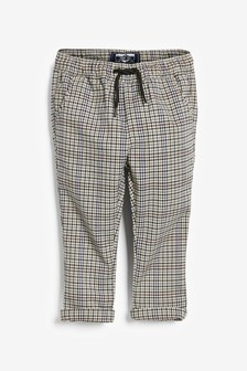 Pantalon à carreaux à enfiler (3 mois - 7 ans)