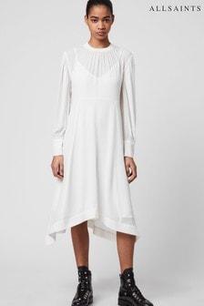 AllSaints Fayre Midi Dress