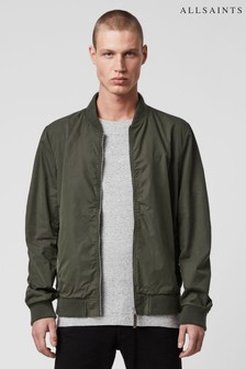AllSaints Khaki Furdston Jacket