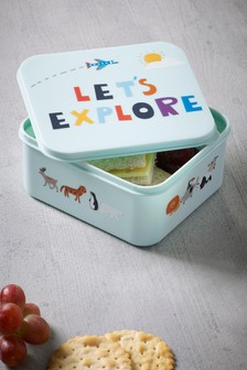 Let's Explore Lunch Box