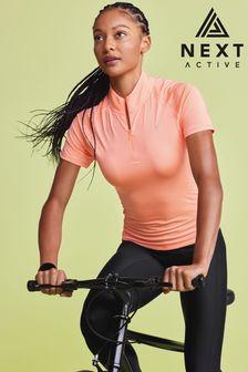 Zip Neck Cycling Top