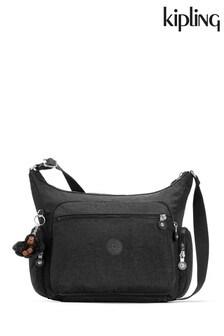 Kipling Black Gabbie Medium Shoulder Bag