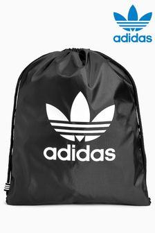 Черный спортивный мешок с трилистником Adidas Originals