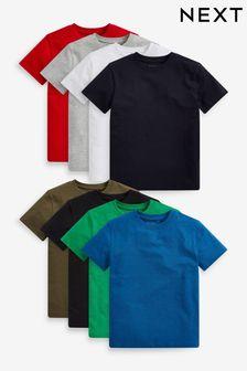 מארז 8 חולצות טי (גילאי 3 עד 16)