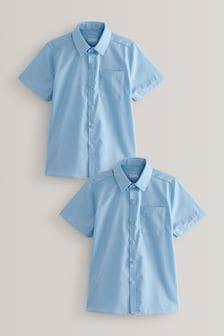 2 Pack Short Sleeve Shirts (3-17yrs)