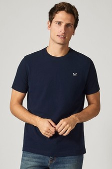 Crew Clothing Company Blue Crew Classic T-Shirt