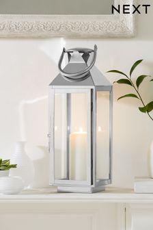 Lanterne moyenne en chrome