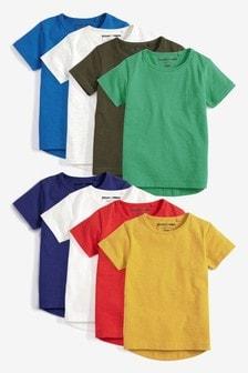 Набор базовых футболок с коротким рукавом (8 шт.) (3 мес.-7 лет)