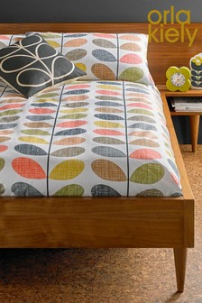 Orla Kiely Scribble Stem Floral Cotton Duvet Cover