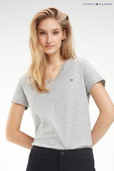 Tommy Hilfiger Heritage T-Shirt mit V-Ausschnitt