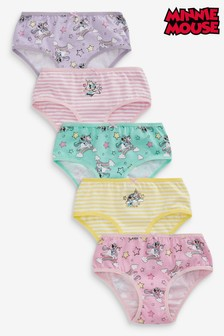 5 Pack Minnie Mouse™ Briefs (1.5-12yrs)