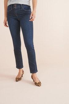 Зауженные моделирующие джинсы