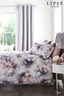 Zestaw pościeli Lipsy Ava w motywy kwiatowe: poszwa na kołdrę i poszewki na poduszki