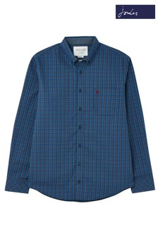 Joules Blue Welford Classic Fit Shirt