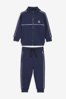 Sporty Zip Through And Joggers Set (3mths-7yrs)