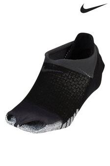 Nike zwarte pilatessokken voor dames