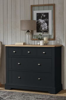Hampton 5 Drawer Wide Chest