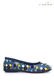 حذاء للبيت طراز باليرينا نسائي منLunar