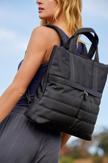 Стеганый рюкзак Hybrid