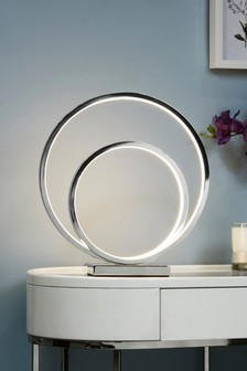 LED Eternity Touch Table Lamp