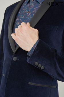 Бархатный пиджак-смокинг с шалевым воротником