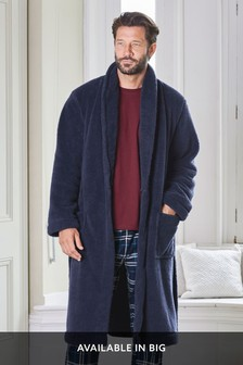 Bademantel aus Fleece
