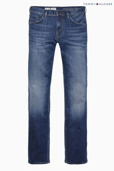 Tommy Hilfiger - Middenblauwe denim Denton jeans