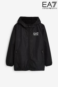 Emporio Armani EA7男童黑色連帽外套