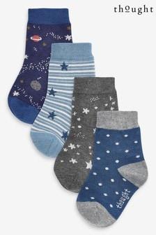 Thought Blue Twinkle Kids Sock Box