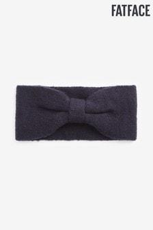 FatFace Blue Plain Knitted Headband