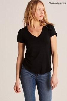 Abercrombie & Fitch T-Shirt, schwarz