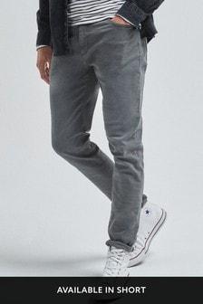 بنطلون جينز مصبوغ بتمدد من Garment