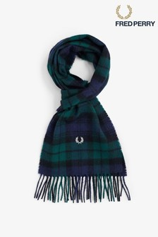 Fred Perry Black Watch Tartan Scarf