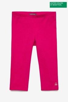 Benetton Pink Cropped Leggings